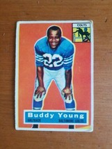 1956 Topps #96 Buddy Young Baltimore Colts halfback - $3.96