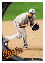 2010 Topps Update #US225 Josh Bell RC Rookie Card > Baltimore Orioles - $0.99