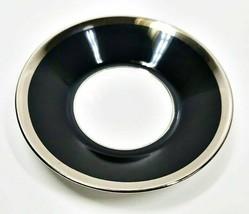 Haviland Limoges Laque De Chine Platinum Rim - Noir Demitasse Saucer, 4 ... - $21.77