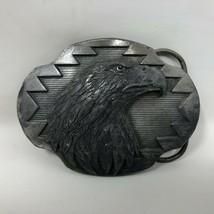 VTG Arroyo Grande Bald Eagle's Head Belt Buckle 1990 Southwest Tribal We... - $39.59