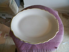 Homer Laughlin HLC811 12 3/8 inch oval platter 2 available - $4.90