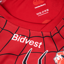 Canterbury Lions Marvel Collection Spiderman Rugby Jersey image 3