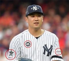 Baseball MLB Masahiro Tanaki Tanaka star 2 + 150 MLB + 45 patch + all st... - $48.99