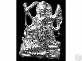 COOL Hindu GODDESS OF PROTECTION KALI OM SHIVA Sterling Silver 925 Ring ... - $25.99