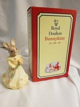 Royal Doulton Bunnykins Figurine Bridesmaid W/ Box DB-173 Signed - $41.53