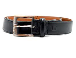 Ralph Lauren Lauren Mens Leather Belt Black Size 36 - $35.68