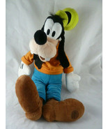 """DisneyStore 17"""" GOOFY Plush friend of Mickey Mouse with clothes - $13.85"""