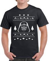 358 Vader Ugly Christmas Sweater mens T-shirt darth star geek nerd wars ... - $17.99+
