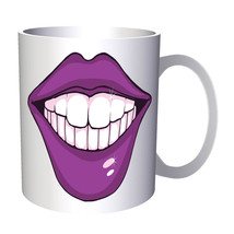 Kiss Me Cute Lips Love Funny Novelty 11oz Mug f364 - $10.83
