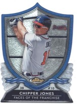 2012 Topps Finest Faces of the Franchise #CJ Chipper Jones NM-MT - $4.23
