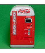 Very Cute Small Coca-Cola Metal Container, Vintage Vending Machine - $2.95