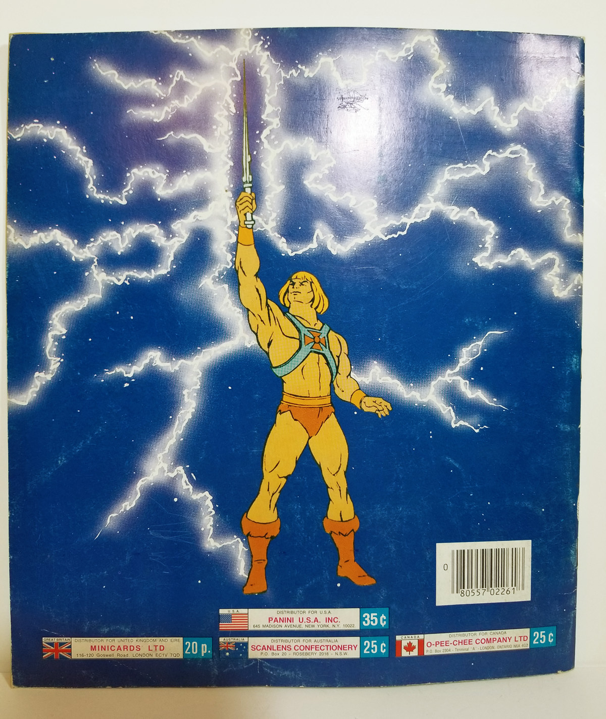 Panini No 19 Mattel Barbie Sticker 1983