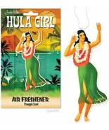 Hula Girl Aloha Pineapple Scent Air Freshener! - $4.64