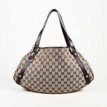"Gucci Monogram Canvas Medium ""Abbye"" Shoulder Bag - $605.00"