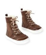 Koala Kids Sherpa Lined Brown Lace Up Shoe - Toddler Boys  Size 5   NWT - $14.93