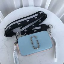 Marc Jacobs Snapshot Small Camera Bag Crossbody Bag Ice Blue Multi Auth - $199.00