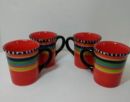 Set of 4 Coffee/Tea Mugs 17 oz Gibson Elite Pueblo Springs - $19.34
