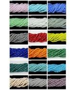 Czech Crystal 2mm x 3mm Faceted Rondelle Loose Beads For Bracelet Neckla... - $1.17+