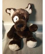BUILD A BEAR--STUFFED PLUSH DOG--BROWN---FREE SHIP--VGC - $21.77