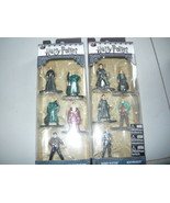 HARRY POTTER NANO METALFIGS 2 both 5 pack sets  10 figures total!  NEW s... - $24.96