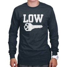 Low Key Cool Gift Cute Edgy Sarcastic Chill Pill Funny Relax Long Sleeve... - $9.99+