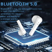 Wireless Earbuds Bluetooth 5.0 Integrated Microphone, IPX5 Waterproof image 2