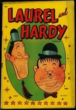 LAUREL AND HARDY COMICS #1 1949 ST JOHN COMEDY MOVIE VG - $242.50