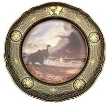 Spode Great Explorers Royal Geographic Society Livingstone of The Shire River MA - $184.73