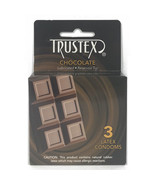 Trustex Chocolate Flavored Condoms 3Pk - $6.64