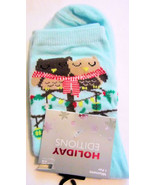 Owl Love Birds Christmas Holiday Socks Women's Shoe Size 4 to 10 NEW - $7.69