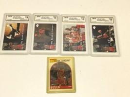 Lot of 5 Michael Jordan 1994 Upper Deck Cards ?Graded 10 Mint image 1