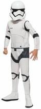 NEW Rubies Star Wars: The Force Awakens Child's Disney Stormtrooper Costume