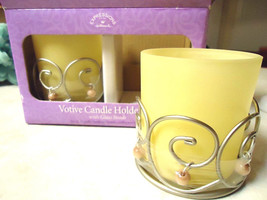Hallmark Expressions Votive Candle Holder Set with Glass Beads - $14.95