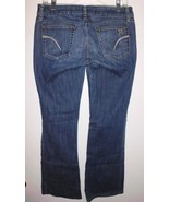 JOE'S Jeans Sz 29 Boot Cut Distressed Stretch Low Rise Blue Denim Women's - $28.50