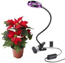 Led Grow Light 10 W Desk Lamp Clip For Indoor Plant and Hydroponics ? BO... - $30.22
