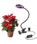 Led Grow Light 10 W Desk Lamp Clip For Indoor Plant and Hydroponics ? BO... - £21.79 GBP