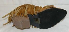 Beast Fashion Carrie 01 Camel Fringe Slip On Shoes Size 5 And Half image 6