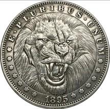 Rare New Hobo Nickel 1895 Morgan Dollar Afrcian Lion Savannah Casted Coin - $11.99