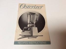 2 Osterizer Mini Blend Storage Jars w/3 lids-Recipes/Instructions Book 1985 - $8.99