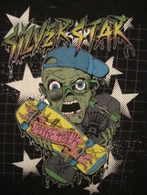 Silver Star Casting punk rock Skateboard retro Mike York T Shirt XL - $11.87
