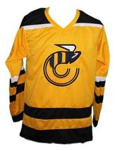 Mark Messier #27 Cincinnati Stingers Retro Hockey Jersey New Yellow Any Size image 1