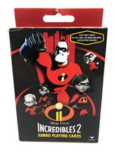Incredibles 2 Jumbo Playing Cards - $2.85