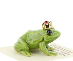 Birthstone Frog Prince January Simulated Garnet Miniatures by Hagen-Renaker image 5