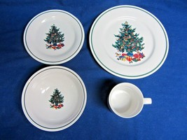 Christmas Tree Holiday China Service - 71 Pieces - $200.00