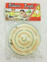 NIP Vintage Patience Puzzle Hong Kong Toy Game  - $9.41