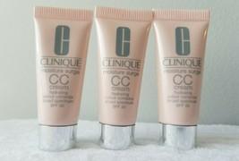 Lot of 3 Clinique Moisture Surge CC Cream SPF 30 Very Light 0.5 oz / 15ml each - $25.73