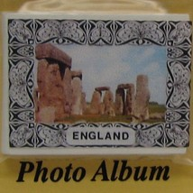 DOLLHOUSE  England Photo Album & Pictures 2463 Jacqueline's Miniature - $5.55