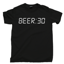 BEER:30 T Shirt, Beer 30 Thirty Happy Hour After Work Ale Men's Cotton Tee Shirt - $13.99+