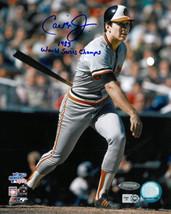 Cal Ripken, Jr. signed Baltimore Orioles 16X20 Photo (1983 World Series)... - $123.95