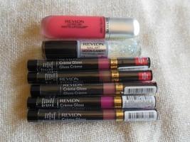 Revlon Lot of 7- Creme Gloss ,Ultra HD Matte Lip Color, Nail Art Enamel - $35.00